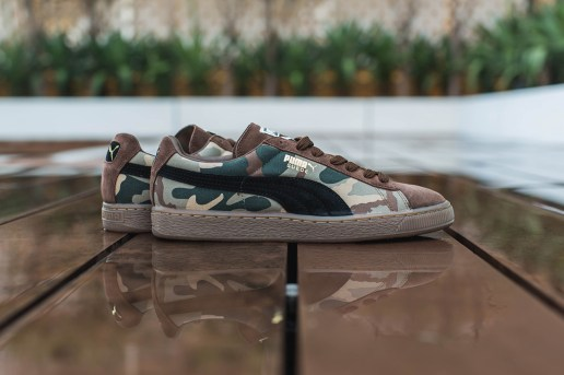 PUMA 2014 Fall/Winter Suede Camo Pack