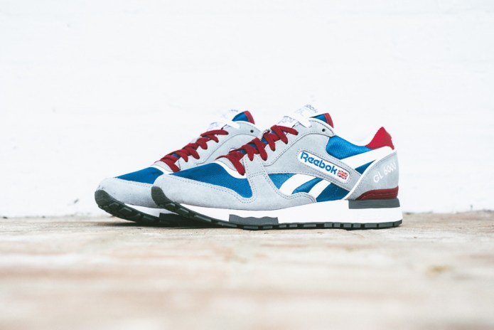 Reebok GL 6000 Grey/Blue/White/Cranberry