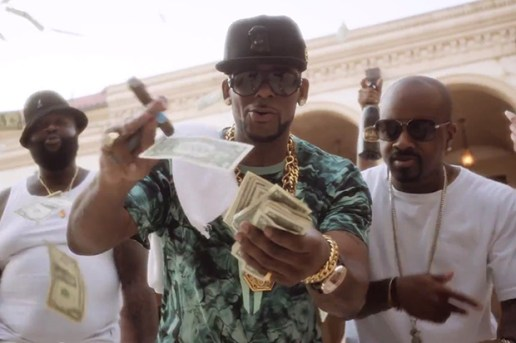 "Rick Ross ft. R. Kelly ""Keep Doin' That"" (Rich B*tch) Music Video"