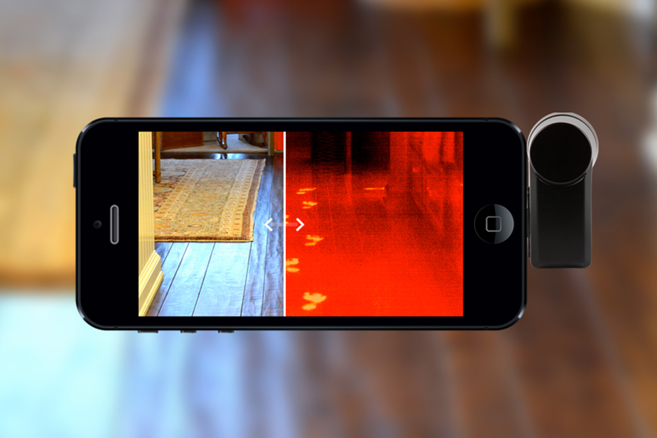 See the Unseen with the Seek Thermal Smartphone Camera