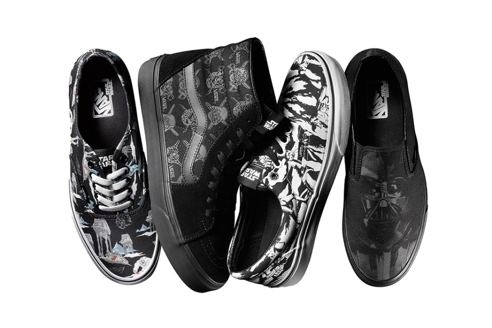 star wars x vans 2014 holiday collection hypebeast. Black Bedroom Furniture Sets. Home Design Ideas