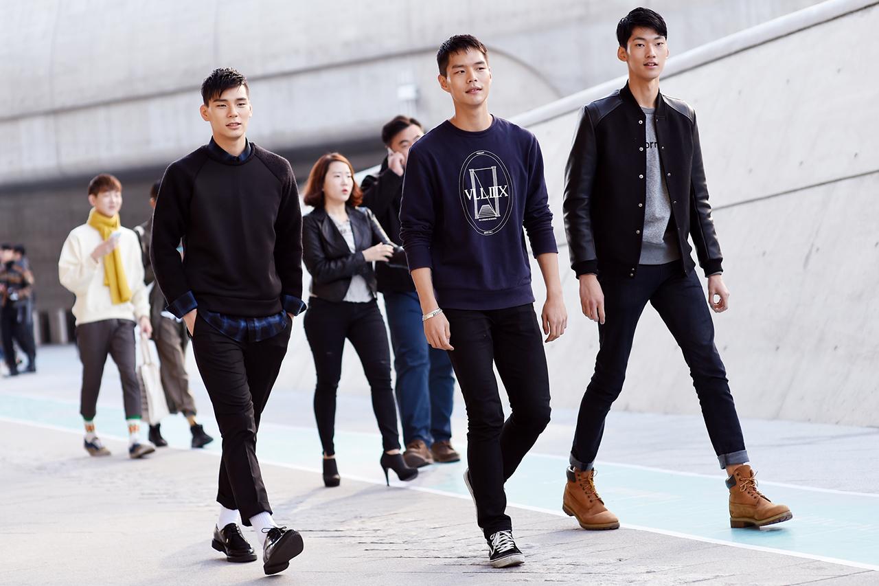 Streetsnaps Seoul Fashion Week 2015 Spring Summer Part 1