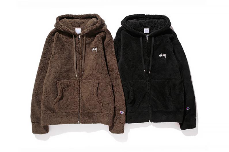 Stussy x Champion Japan 2014 Fall/Winter Fleece Collection