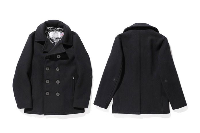 Stussy x Schott 2014 Fall Pea Coat