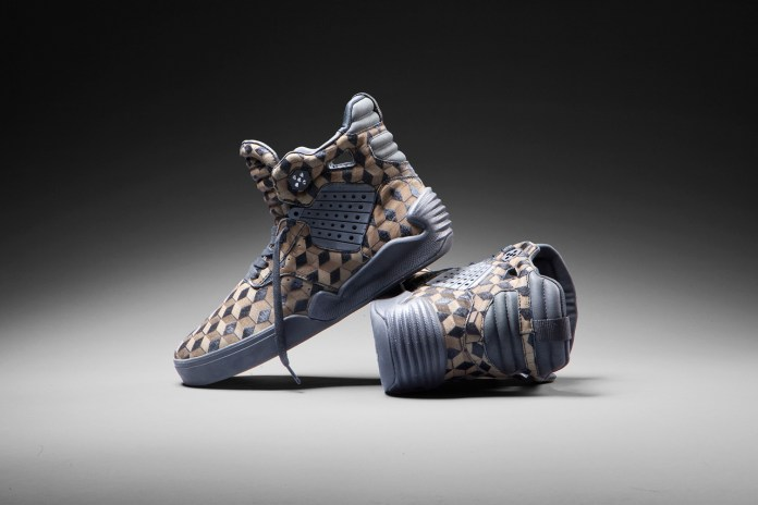 SUPRA Skytop IV Featuring Laser-Etched Pony Hair Suede