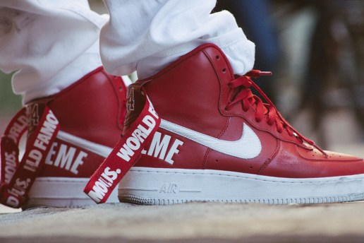 Supreme x Nike 2014 Fall/Winter Air Force 1 High Collection