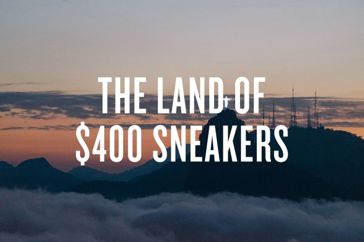 The Land of $400 Sneakers: 7 Things About Brazil's Streetwear and Sneaker Culture