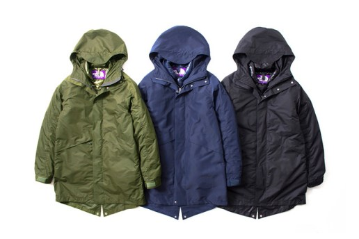 THE NORTH FACE PURPLE LABEL 2014 Fall/Winter Detachable Lining Field Coat