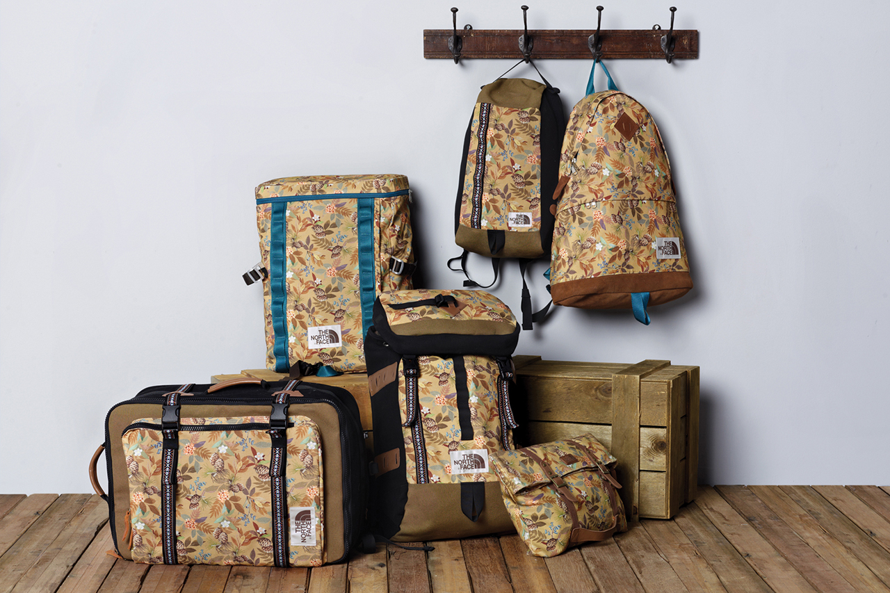 THE NORTH FACE White Label 2014 Fall/Winter Printed Bag Collection