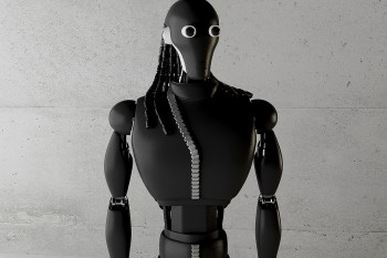 The Rick Owens Robot by Simeon Georgiev