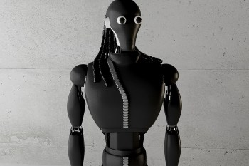 The Rick Owens Robot by Simeon Georgiev