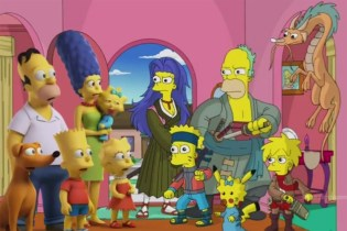The Simpsons Recreates Adventure Time, South Park, Archer, Pokemon and Many More