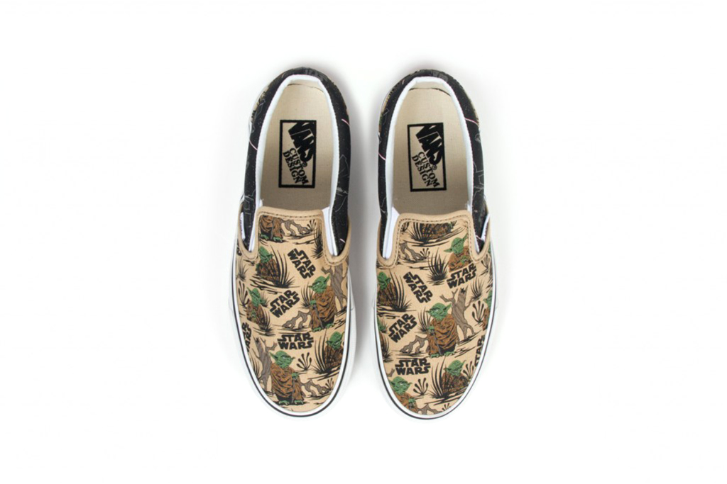 Two New Star Wars x Vans Prints Now Available on Vans Customs
