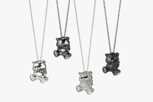 UNDERCOVER × Justin Davis Bear Necklace