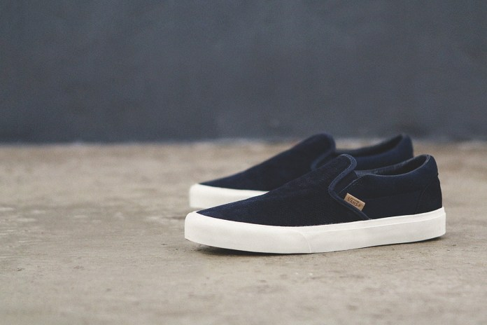 Vans California 2014 Holiday Knit Suede Collection