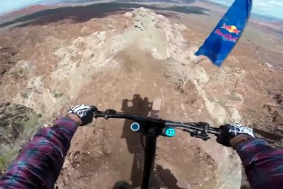 Watch Jeff Herbertson's Red Bull Rampage Qualifier Run with GoPro