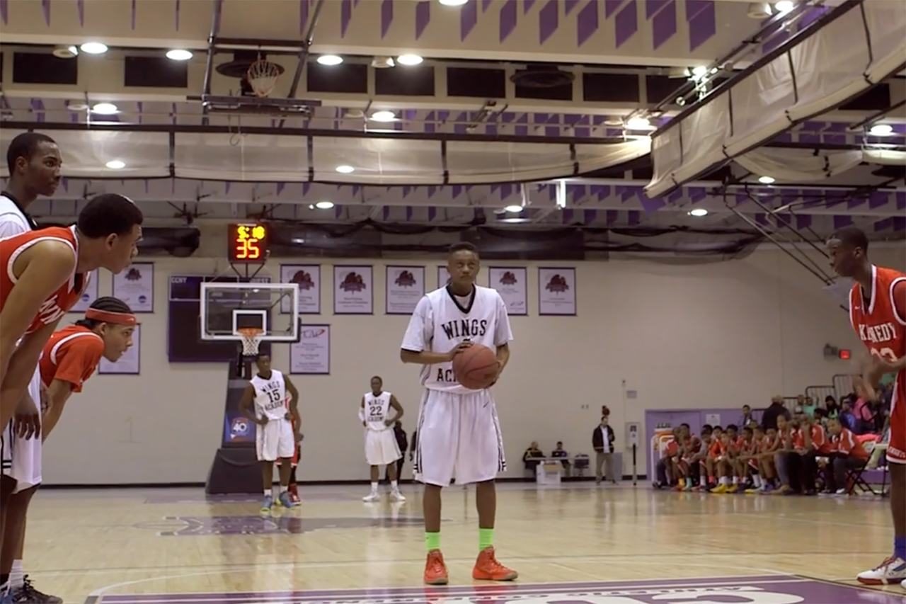 "Will Robson-Scott's ""Wings"" Takes Us Inside Bronx High School Basketball"
