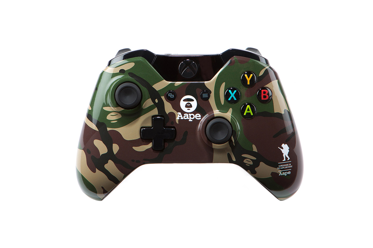 Xbox One x AAPE by A Bathing Ape Capsule Collection