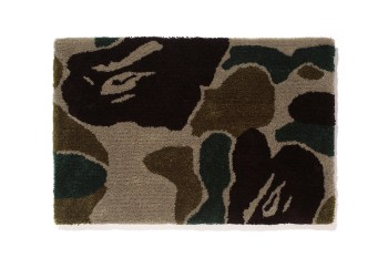 A Bathing Ape BAPE GALLERY KYOTO Exclusive Camo Rug