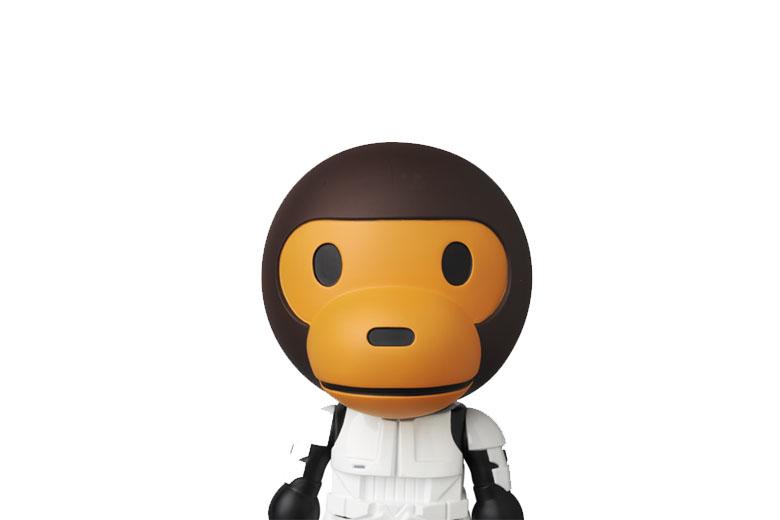 A Bathing Ape X Star Wars X Medicom Toy Collaboration Pack