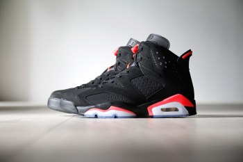 A Closer Look at the Air Jordan 6 Retro Black/Infrared 23