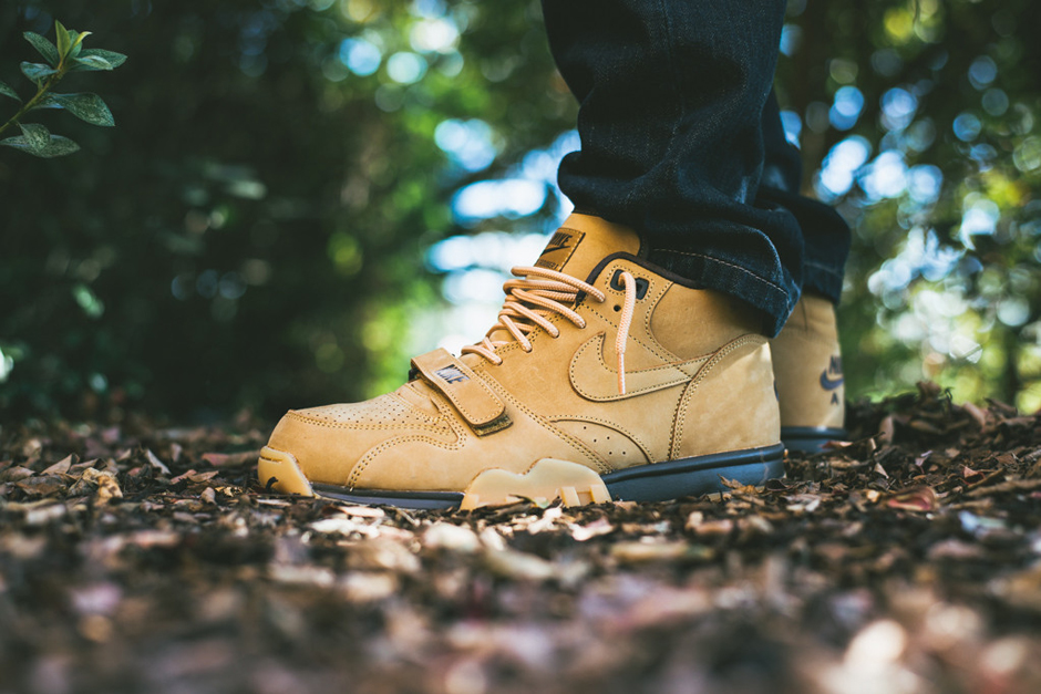 """A Closer Look at the Nike Air Trainer 1 Mid Premium NSW """"Flax"""""""