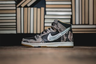 "A Closer Look at the Nike Dunk CMFT PRM QS ""Snakeskin"""