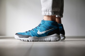 """A Closer Look at the Nike Flyknit Trainer Chukka FSB """"Squadron Blue"""""""