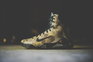 "A Closer Look at the Nike Kobe IX High EXT QS ""Snakeskin"""