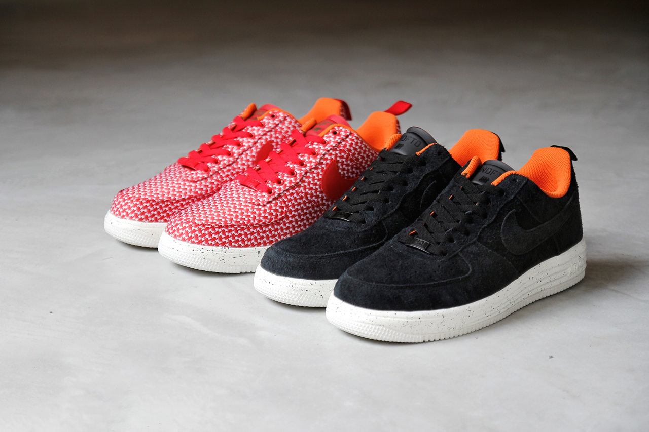 A Closer Look at the Undefeated x Nike Lunar Force 1 Pack
