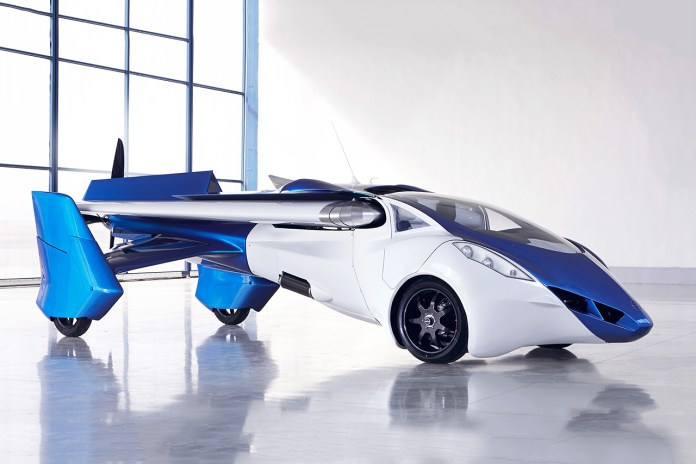 A First Look at the AeroMobil 3.0 Flying Car