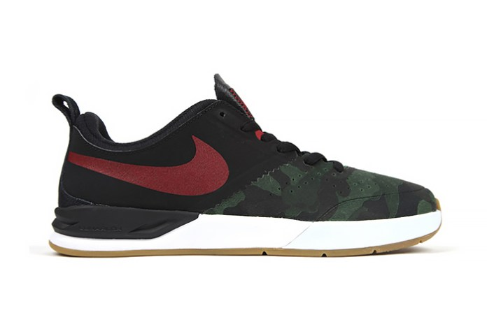 """A First Look at the Nike SB Project BA """"Camo Toe"""""""