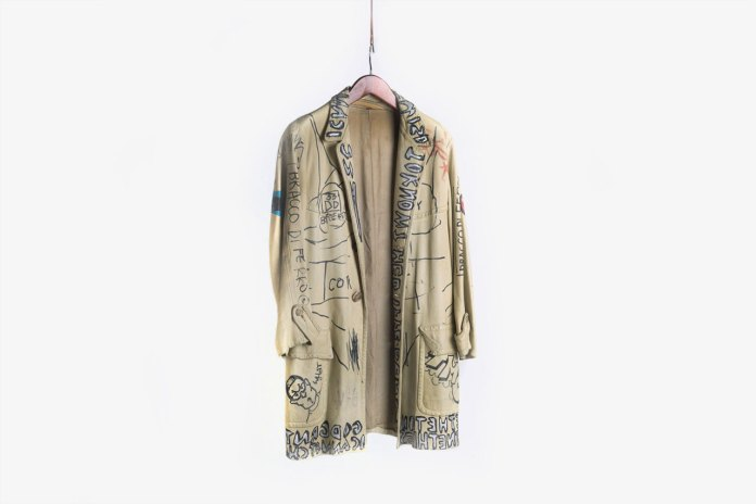 A Jacket Tagged by Jean-Michel Basquiat, Stephen Sprouse Was Recently Auctioned Off