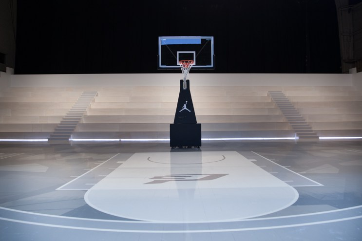 A Look Inside the Jordan Hangar in Los Angeles