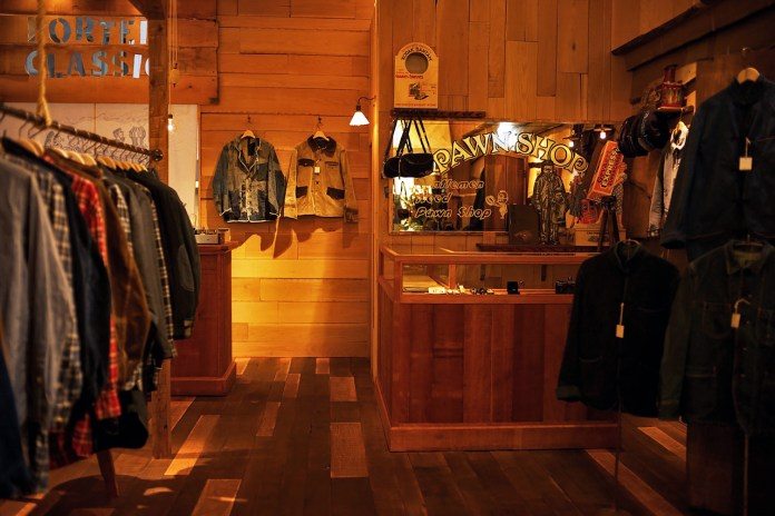 A Look Inside the Porter Classic Store in Kanazawa
