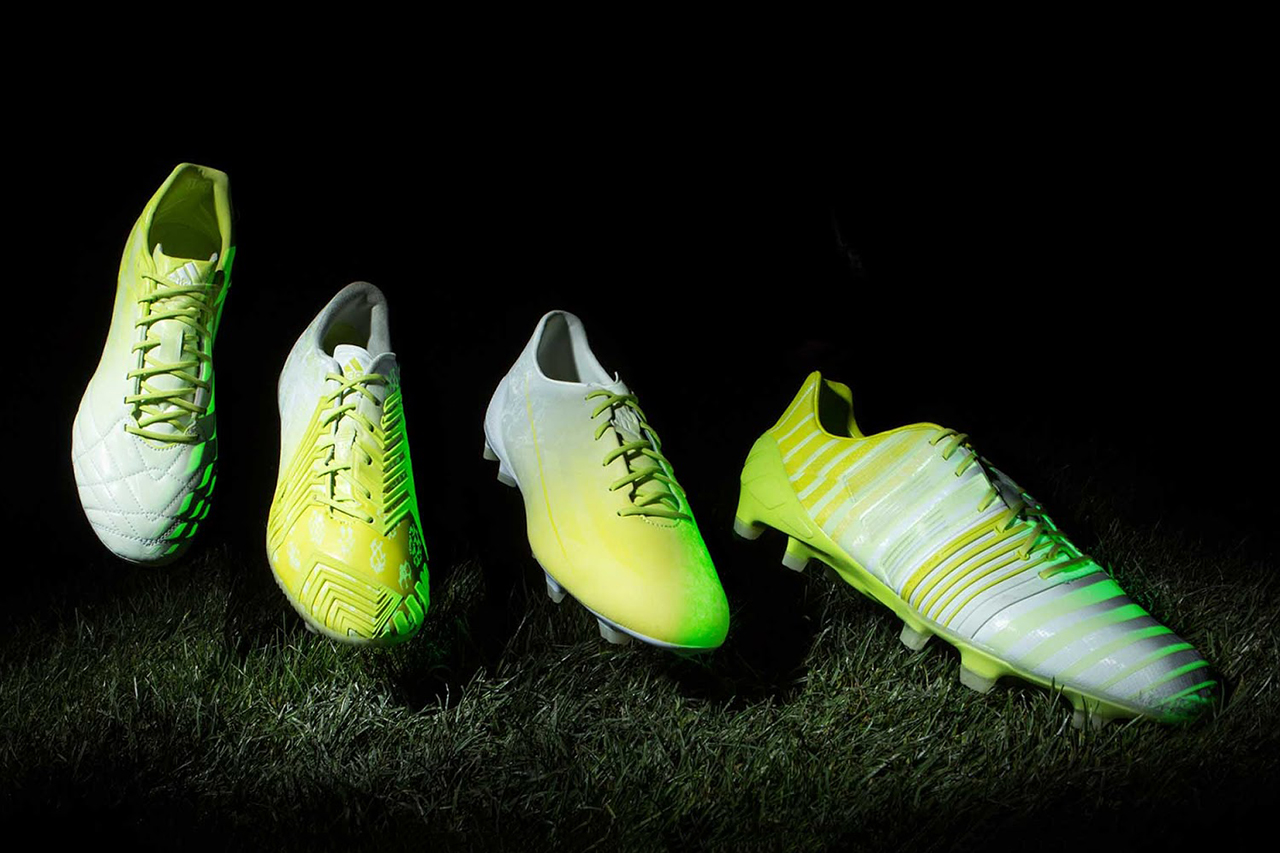 """adidas Unveils its Glow-in-the-Dark """"Hunt"""" Football Boots"""
