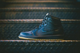 Air Jordan 1 Retro OG Black/Black-Gum