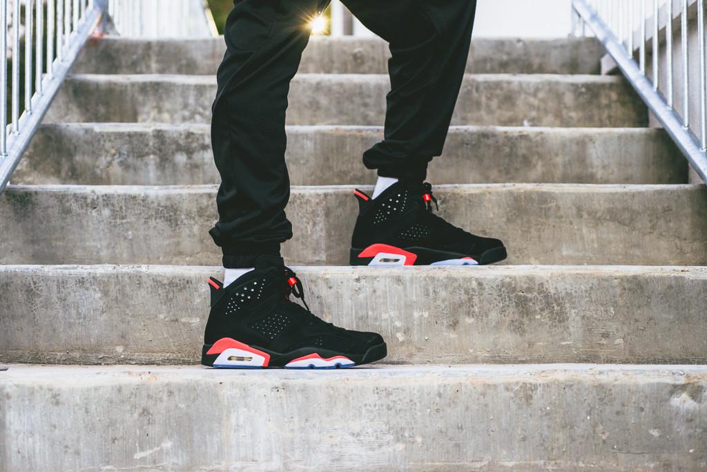 Air Jordan 6 Retro Black/Infrared 23