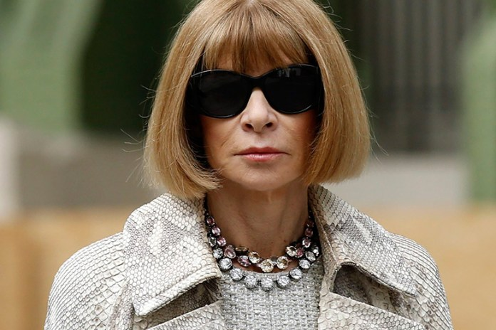 Anna Wintour Speaks Out About Kim and Kanye's Vogue Cover