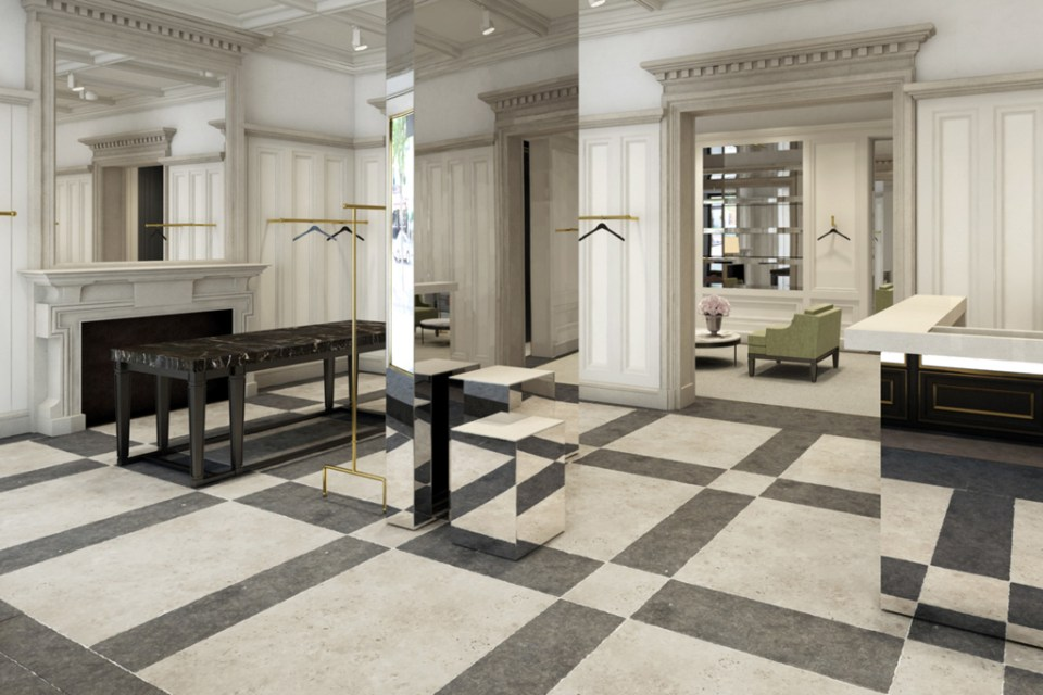 Balmain Opens First Flagship Store in London