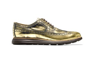 Cole Haan Offers Metallic Options with Latest Grand and ZeroGrand Shoes