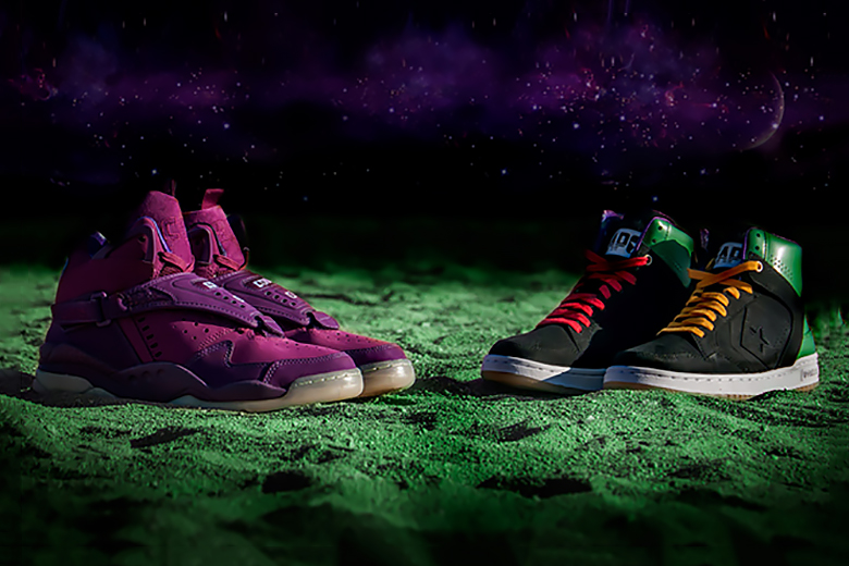 """Converse Draws Inspiration from 'Space Jam' with the """"Space Invader"""" Pack"""