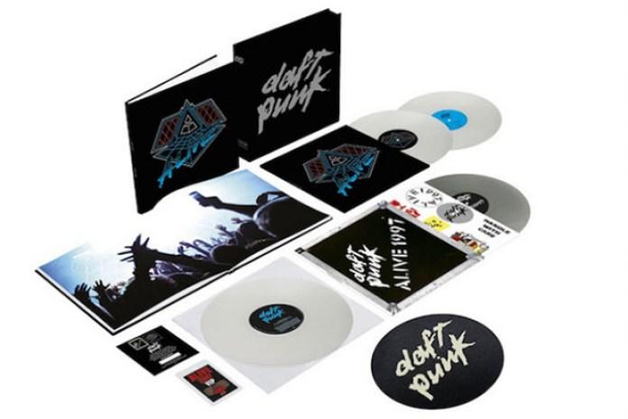 Daft Punk to Release a Live Vinyl Box Set