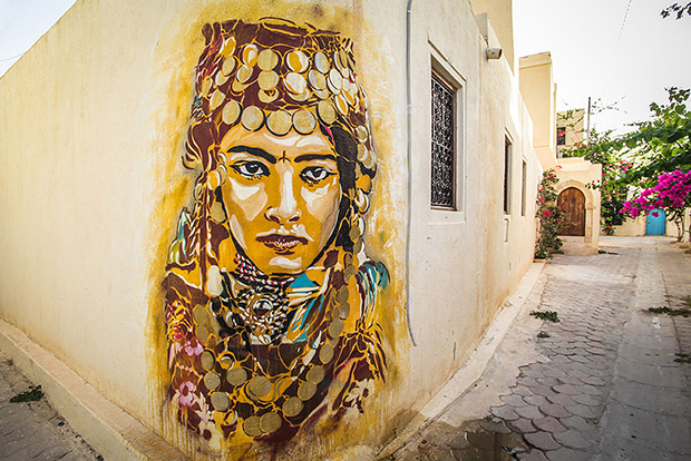 'Djerbahood' Project Transforms Tunisian Village into an Open Air Art Museum