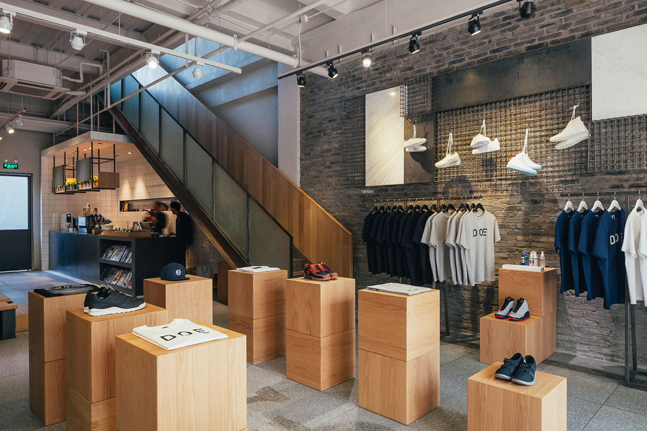 A Look Inside the DOE Shanghai Store