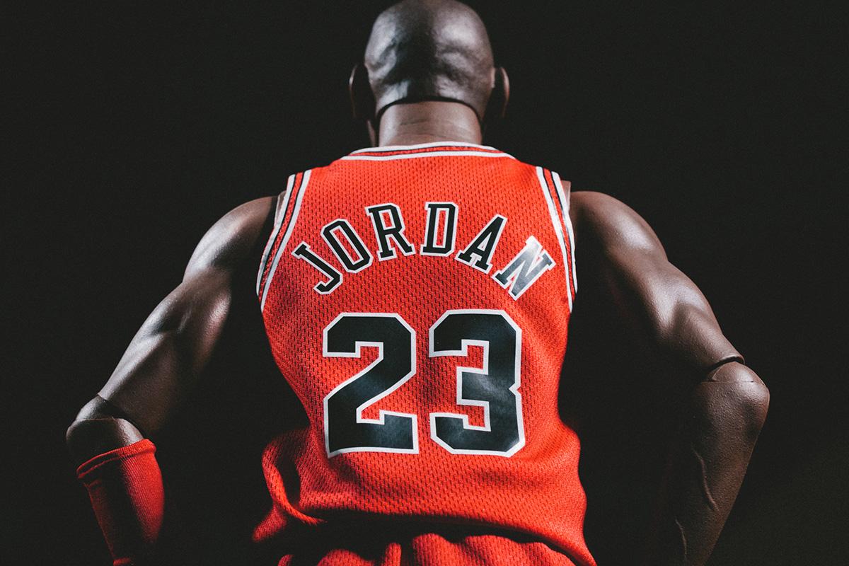 ENTERBAY HD Masterpiece 1/4th Scale Michael Jordan Action Figure
