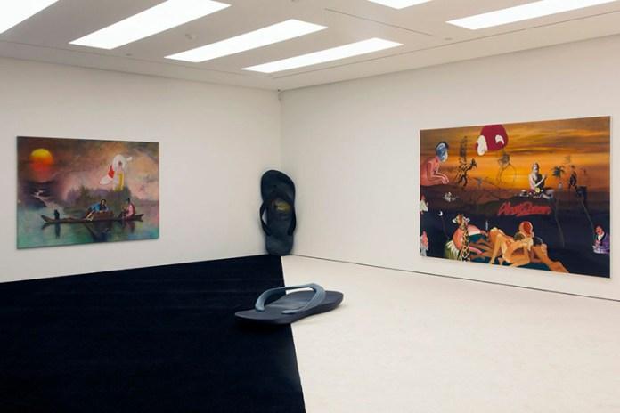 "Friedrich Kunath ""Earth to Fuckface"" Exhibition @ White Cube Gallery Hong Kong"