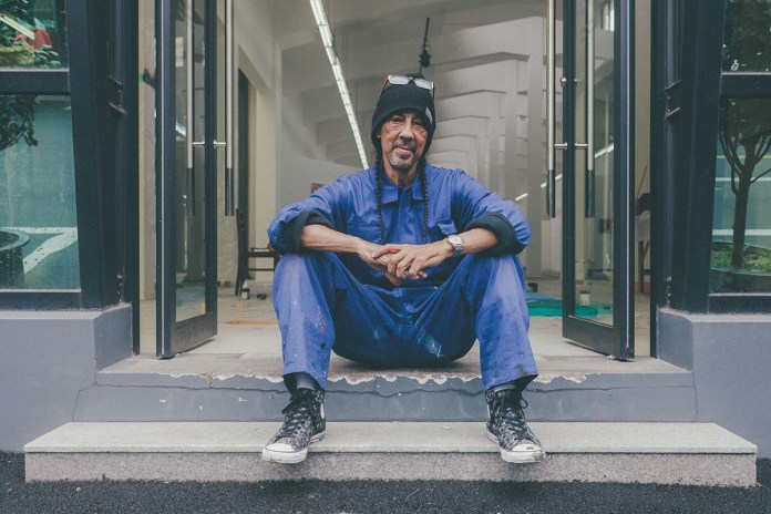 "Futura Talks his ""Kinetic Action"" Solo Exhibition with Converse in Shanghai"