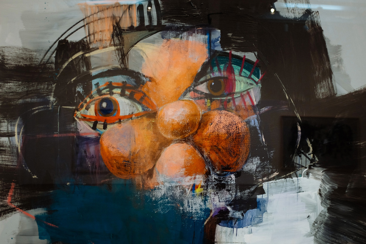 "George Condo ""Double Heads and Black Paintings/Abstractions"" Exhibition"