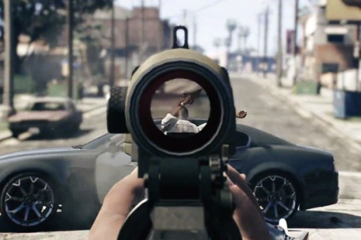 Grand Theft Auto V Introduces the First Person Experience